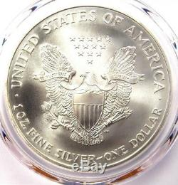1995 American Silver Eagle Dollar $1 ASE Certified PCGS MS70 $3,250 Value
