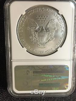 1995 American Silver Eagle NGC MS 70