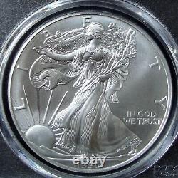 1996 1oz Silver American Eagle Dollar PCGS MS 70
