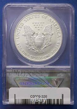 1996 American Silver Eagle ANACS MS 70 No Reserve