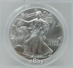 1996 American Silver Eagle MS70 ANACS Certified (G357)
