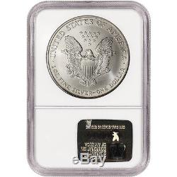 1996 American Silver Eagle NGC MS70