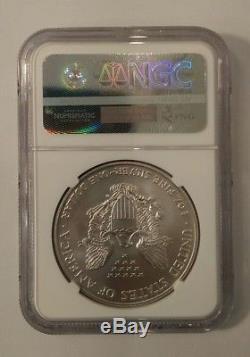 1996 American Silver Eagle NGC MS70 Beautiful Key Date
