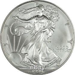 1996 American Silver Eagle PCGS MS70 Very Scarce
