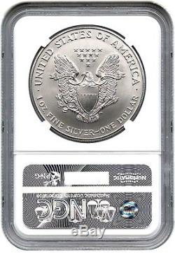1996 Silver Eagle $1 NGC MS70 Tough Date American Eagle Silver Dollar ASE