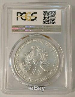 1996 Silver Eagle American PCGS MS70