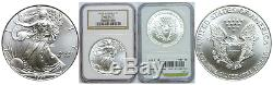 1997 American Eagle Silver Coin NGC MS-70