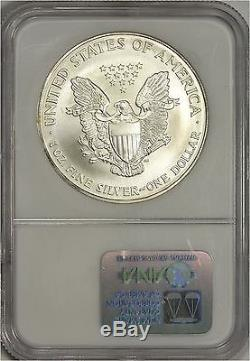 1997 American Silver Eagle NGC MS70