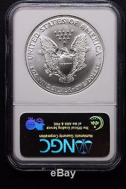 1997 American Silver Eagle (RARE MS70) $1 -NGC MS70 Make An Offer/Hard to get