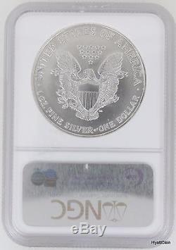 1997 Silver American Eagle Dollar $1 NGC MS70