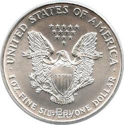 1997 Silver Eagle $1 PCGS MS70 American Eagle Silver Dollar ASE Rare MS70