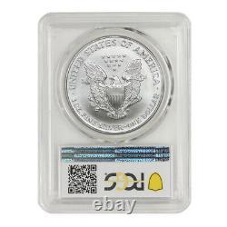 1998 $1 American Silver Eagle PCGS MS70 1 ounce. 999 fine Philadelphia coin