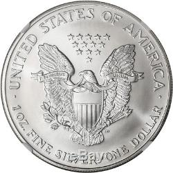 1998 American Silver Eagle NGC MS70