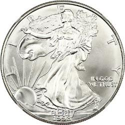 1998 Silver Eagle $1 NGC MS70 American Eagle Silver Dollar ASE