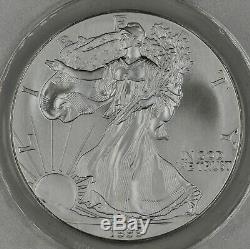 1999 American Silver Eagle Dollar $1 ANACS MS70