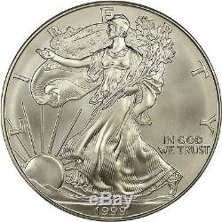 1999 American Silver Eagle NGC MS70 RARE