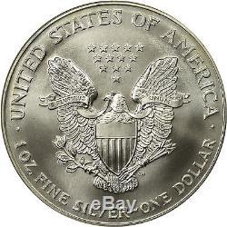 1999 American Silver Eagle NGC MS70 RARE