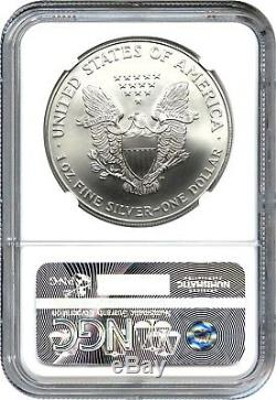 1999 Silver Eagle $1 NGC MS70 American Eagle Silver Dollar ASE