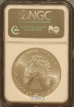 2000 American Silver Eagle FIRST STRIKE NGC MS69 Key Date (Lot 308)