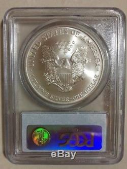 2000 PCGS MS69 $1 Millennium Set American Silver Eagle Coin BLUE LABEL #2488