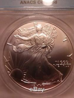 2000 Silver American Eagle MS-70 Free To Look Beautiful Coin