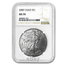 2000 Silver American Eagle MS-70 NGC (Registry Set) SKU#66458