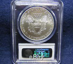 2001 $1 American Silver Eagle PCGS MS70 Coin Population ONLY 31