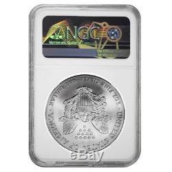 2001 1 oz Silver American Eagle $1 Coin NGC MS 70