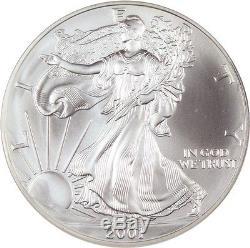 2001 Silver Eagle $1 NGC MS70 American Eagle Silver Dollar ASE