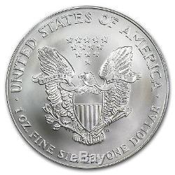 2002 1 oz Silver American Eagle MS-70 PCGS Registry Set