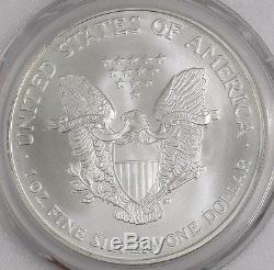 2002 American Silver Eagle $ MS70 PCGS