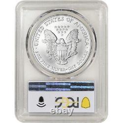 2002 American Silver Eagle PCGS MS70