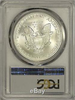 2002 American Silver Eagle PCGS MS70 Scarce