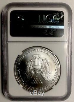 2003 Silver Eagle $1 NGC MS70 American Eagle Silver Dollar ASE