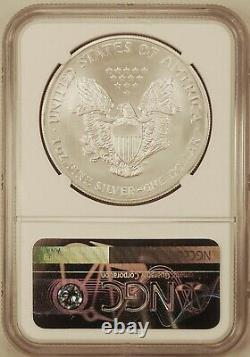 2004 American Silver Eagle $1 Gem Brilliant Uncirculated NGC MS70