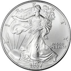2004 American Silver Eagle NGC MS70