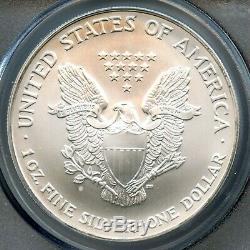 2005 American Silver Eagle Dollar PCGS MS 70