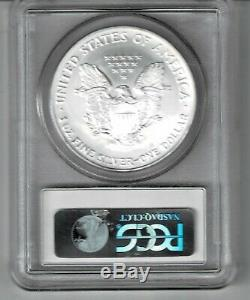 2005 American Silver Eagle Ms-70 Bu Pcgs Value Is $125