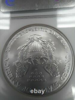 2005 MS70 American Silver Eagle, NGC Brown Label, FREE SHIPPING