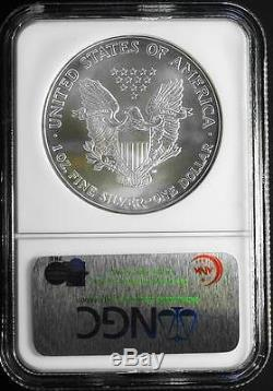 2006 $1 1 Ounce ULTRA RARE POP 63 American Silver Eagle NGC MS 70 EARLY RELEASES