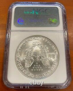 2006 $1 1oz. ULTRA RARE POP 64 American Silver Eagle NGC MS 70 EARLY RELEASES