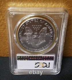 2006 $1 American Silver Eagle PCGS MS70.999 1oz Silver Perfect ASE