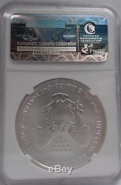 2006 20th Anniversary Silver American Eagle Dollar Set NGC MS70 / PF70 / PF70