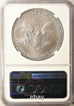 2006 American Silver Eagle S$1 Gem Brilliant Uncirculated NGC MS70