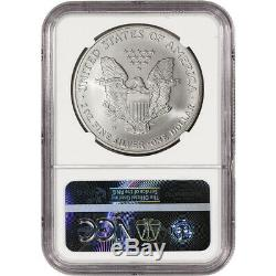 2006-W American Silver Eagle Burnished NGC MS70 Large Label