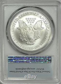 2007-(W) American Silver Eagle PCGS MS70 First Strike