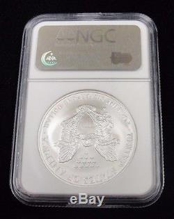 2008 $1 AMERICAN SILVER EAGLE! NGC MS 69! EARLY RELEASES! REV of 07! CV4036