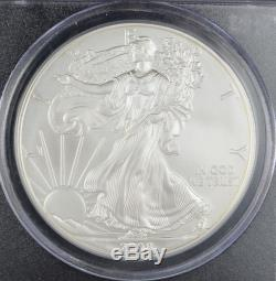2008 Reverse of 2007 PCGS MS69 Mercanti Signed American Silver Eagle (d19.2)