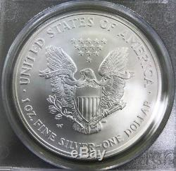 2008-W 1 oz American Silver Eagle Reverse of'07 PCGS MS69 First Strike