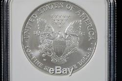 2008 W American Silver Eagle Ngc Ms70 Reverse Of 2007 Early Releases Label